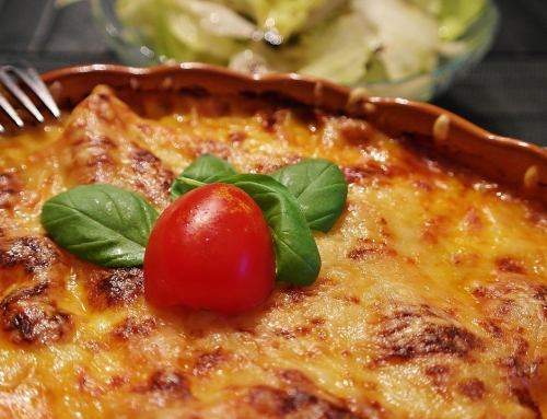 Recette – Lasagne au Konjac